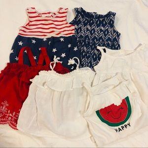 Baby girl 6-12 months summer bundle